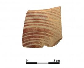 Ceramic vessel 30-1-4. Cueva de la Lobera