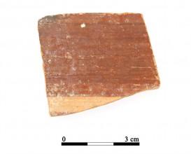 Recipiente cerámico 30-1-3. Cueva de la Lobera