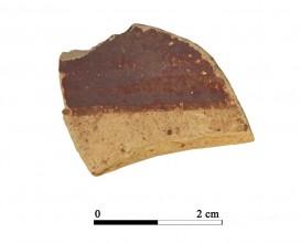 Recipiente cerámico 13-2-1. Cueva de la Lobera