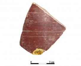 Recipiente cerámico 12-14. Cueva de la Lobera