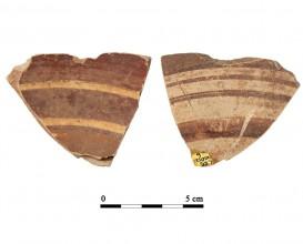Ceramic vessel D12-6. Cueva de la Lobera