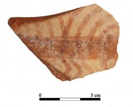 Ceramic vessel 104-1. Oppidum Puente Tablas