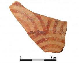 Ceramic vessel 104-2. Oppidum Puente Tablas