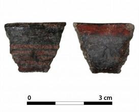 Ceramic vessel 494-2. Oppidum Puente Tablas